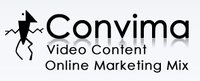 Convima | Video Content For Your Online Marketing Mix (Logo