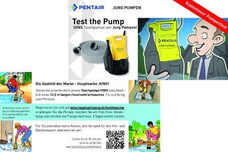Jung Pumpen unterstützt das Handwerk bei der Endkundenkommunikation mit einem Flyer / Foto: Pentair Jung Pumpen, Steinhagen; Otto-Fabian Voigtländer