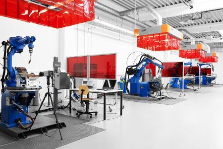 SKS-Labor in Deutschland als Vorbild für die Schweißversuchslabore der Tochtergesellschaften