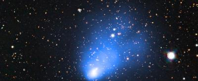 "El Gordo - A ""Fat"" Distant Galaxy Cluster"