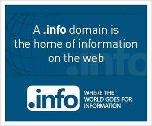 If your website contains information, the info-domain is your domain
