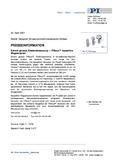 PDF Pressemeldung PISeca(TM) Positionssensoren