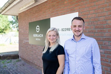 Tanja Gerlach mit Inhaber Stefan Gerlach