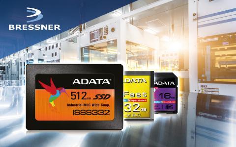 BRESSNER startet eine Kooperation mit ADATA Technology und erweitert sein Produktportfolio um eine Vielzahl an Flashspeicher-Lösungen für den Industriesektor