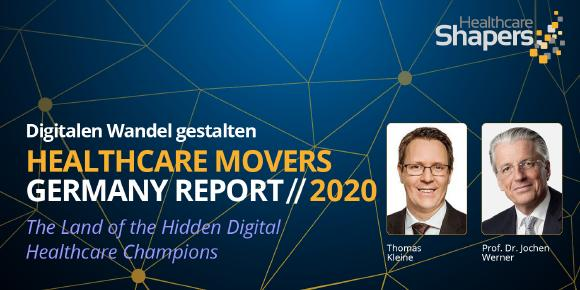 "Thomas Kleine (Pfizer) und Prof. Dr. Jochen Werner (Universitätsmedizin Essen) gehören zur digitalen Avantgarde und diskutieren mit beim Event ""Healthcare Movers 2020 Germany Report – the Land of the hidden Champions"" am 8. Dezember."