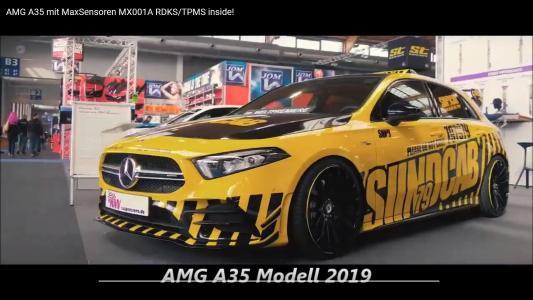 AMG A35 Model 2019 included MaxSensor MX001A RDKS/TPMS Sensor!