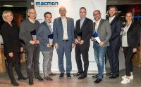 Four partners were awarded the popular macmon awards