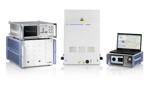 Neues Testsystem von Rohde & Schwarz für den FR2-Frequenzbereich und standortbezogene Dienste unterstützen den Ausbau des 5G-Mobilfunknetzes