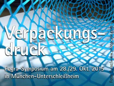 """Fogra-Symposium """"Verpackungsdruck - die Faltschachtel"""""""