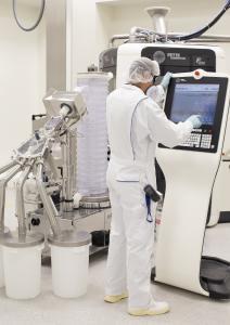 Develco betreibt eine hochmoderne Produktion von Spezialarzneimitteln in Schopfheim, Baden.