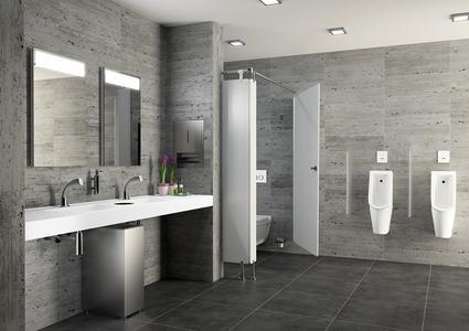 CONTI+ Waschraum- und Duschraumlösungen / Foto: www.conti.plus