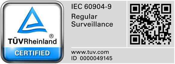 TÜV Certified