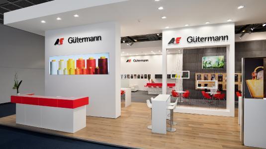 Gütermann auf der Texprocess 2017 in Frankfurt