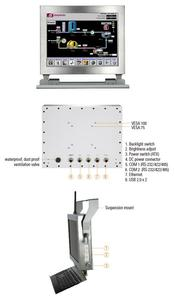 """Axiomtek Launches 12.1"""" IP66-rated Stainless Panel PC for Outdoor Information Kiosks & Food Factory - GOT812LR-834"""