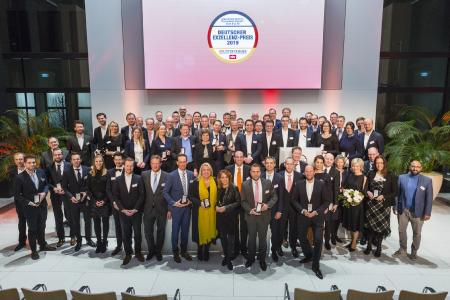 Gewinner des Deutschen Exzellenz-Preises / Foto: Bernd Roselieb