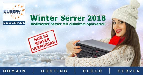 Limitierter Winter Server 2018 mit Intel Kaby Lake Architektur