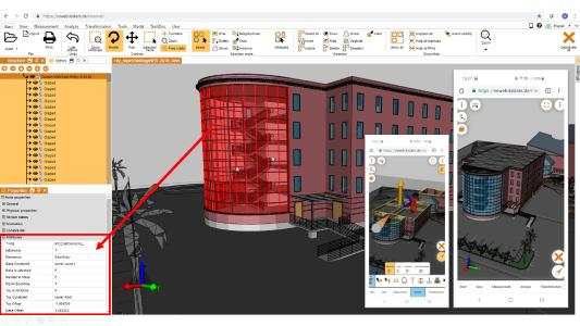 visualization for BIM / AEC incl Web and mobile
