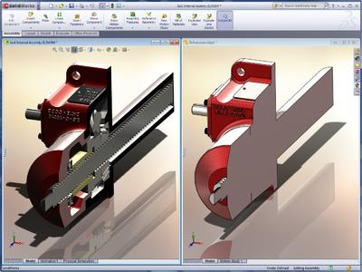 SolidWorks 2011 Defeature Tool