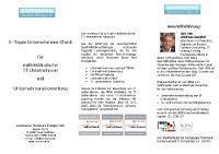 connexxa 3-Tages-Unternehmens-Check für IT-Unternehmen mit Unternehmensbewertung