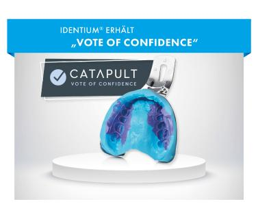 "Identium erhält ""Vote of Confidence"" von Catapult"