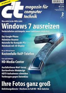 Das Titelbild der aktuellen c't-Ausgabe 03/2010