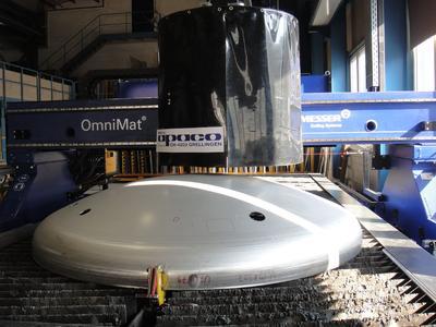 OmniMat® L-Plasmaschneidanlage der Messer Cutting Systems GmbH