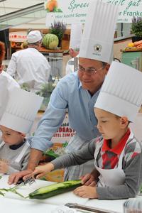 Kulinarischer Kindertag im Erfurter Einkaufszentrum Thüringen Park