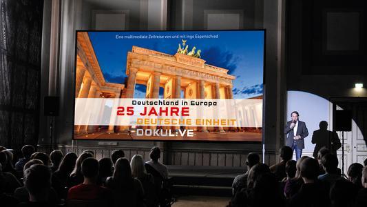 """DOKULIVE an der TU Ilmenau: """"Deutschland in Europa - 25 Jahre Deutsche Einheit"""""""