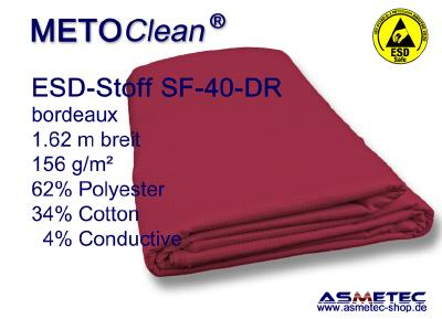 ESD-Stoff SF-40 in rot