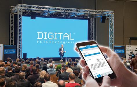 DIGITAL FUTUREcongress Präsenz und hybrid in München