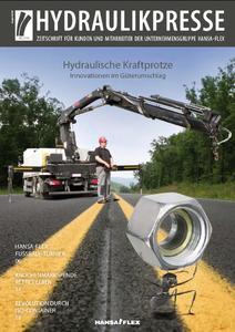 Titelbild Hydraulikpresse Ausgabe August 2010