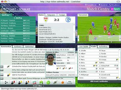 Neues Look & Feel und innovative Features zum Saison-Auftakt: Fußball Live-Ticker www.onsport.t-online präsentiert sich durch Redesign des Münchener Online-Spezialisten BTD Newmedia in Bestform