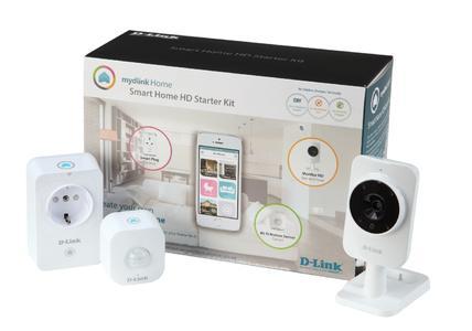 D-Link Smart Home HD Starter Kit DCH-100KT