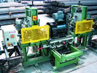 Prüfung von Stangen in der Produktionslinie u.a. mit Rotor EC100, vierkanalig