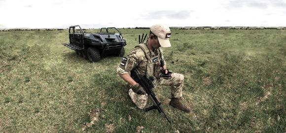 Rheinmetall Mission Master Argus soldier system