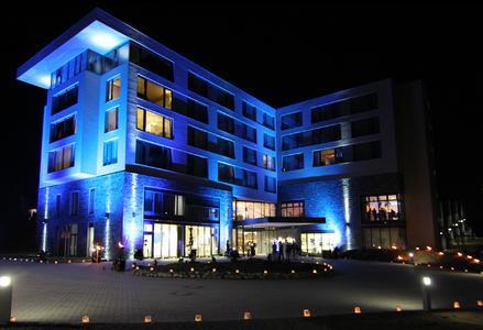 Im Hotel Fire & Ice sind Schalter von Berker stilvolle Begleiter durch den Tag.