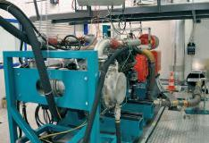 Der neue Prüfstand für (Lastwagen-)Motoren bis 4000 Newtonmeter Drehmoment