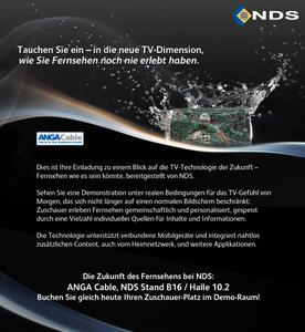 Einladung: The Future of TV - Anga Cable 2012