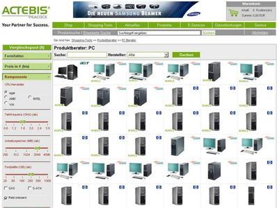Neu im Team der Online-Produktberater von Actebis Peacock: der PC-Berater