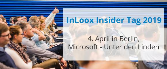 Save the Date: InLoox Insider Tag Berlin am 4. April 2019