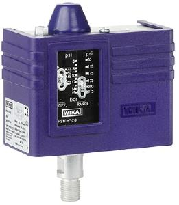 Pressure switch for high electrical loads