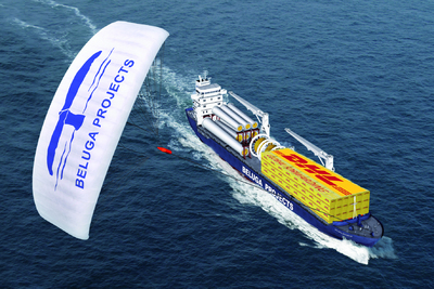 DHL and Beluga SkySails