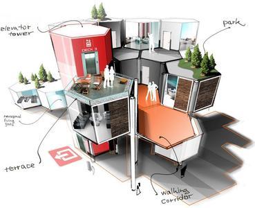 future living wohnkonzepte der zukunft dominic schindler creations gmbh pressemitteilung. Black Bedroom Furniture Sets. Home Design Ideas