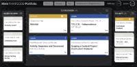 Area9 Rhapsode: Beispiel eines Learner Dashboards - Onboarding Business Development bei Area9 Lyceum