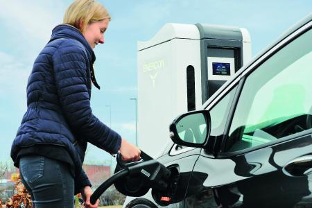 Enercon relies on enclosure technology from Rittal for its rapid charging stations (Image from: Enercon GmbH)
