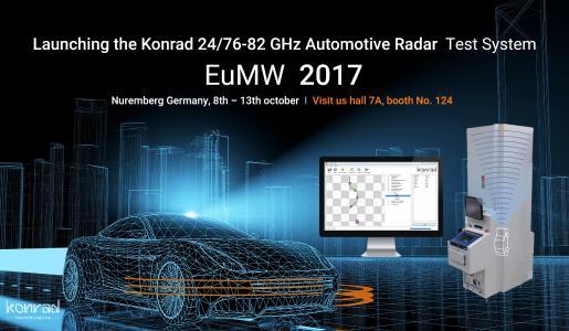 Konrad Technologies Demonstrates ADAS Test Solutions for 24/76-81 GHz Automotive Radar for Validation & Production Leveraging the National Instruments VRTS Platform