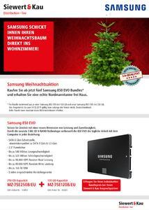 Siewert & Kau Weihnachtsbaum / Samsung Weihnachtsbaum-Aktion bei Siewert & Kau