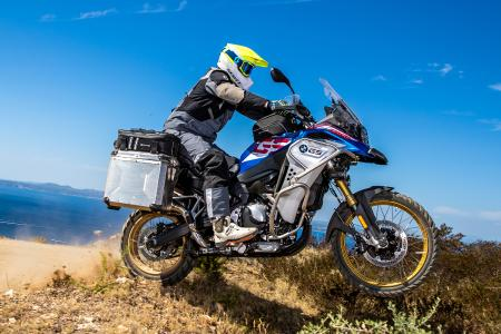 BMW F 850 GS Adventure in Wunderlich trim