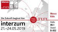 M-TEC auf der Interzum 2019 vom 21. - 24. Mai - Halle 08.1, Stand B-052