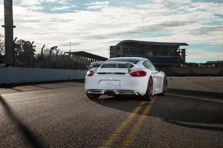 TECHART Rear Spoiler II for the Porsche Cayman models